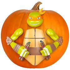 Mutant Ninja Turtles Pumpkin Push In Decorating Kit