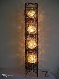 Square Floor Lamp Wholesale Handmade Rattan Floor Lamp Lighting Floor Lamp Bedroom