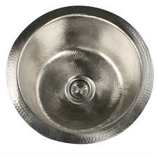 overstock faucets kitchen 250 highpoint collection round hammered undermount bar prep