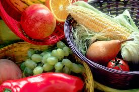 fruit and vegetable baskets file fruit and vegetables basket jpg wikimedia commons
