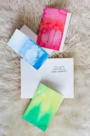 water color cards diy watercolor greeting cards wandeleur