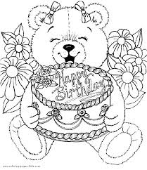coloring pages for birthdays printables happy birthday coloring pages printable cliptext co