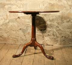 rosewood tall end table coffee brown georgian oak tripod table antiques atlas