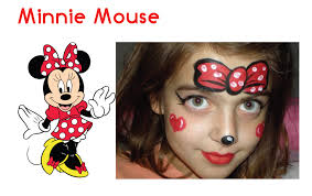 minnie mouse face makeup cute mouse halloween makeup tutorial
