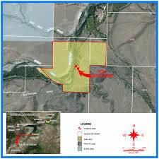 Wydot Map South Fork Shoshone River Twin Creek Trailhead Public Access Area