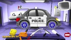 Purple Paint Law by Autoworkshop Car Wash And Painting Machines Police Car Workshop