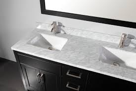 lovable solid wood double vanity and mtd 60 inch espresso solid