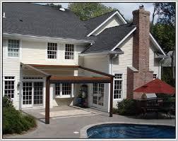Backyard Awning Patio Awning Ideas Home Design Ideas