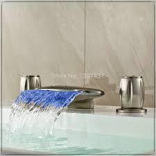 oil rubbed bronze widespread bathroom faucet bathroom splendid modern bathtub 135 tile waterfall bathroom