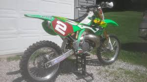 motocross bike for sale for sale paul edmondson ricky carmichael kawasaki kx250