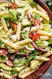 cold pasta salad dressing lemon herb mediterranean pasta salad is loaded with so many
