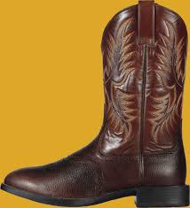 men u0027s ariat heritage stockman western roper boot