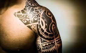 tribal front shoulder
