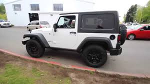 white jeep 2 door 2015 jeep wrangler sport willy u0027s wheeler white fl685482
