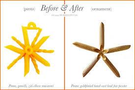 orange howell s macaroni ornaments we d wear em