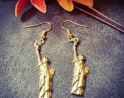 liberty earrings liberty earring etsy