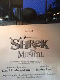 learned playing shrek musical