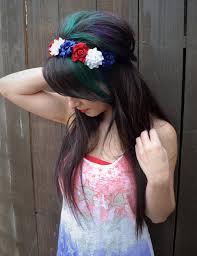 white and blue headband white blue flower headband headband by vividbloom