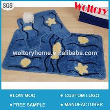 Latex Backed Rugs Decorative Latex Backed Acrylic Bath Mats Rugs Bathroom Door Mat