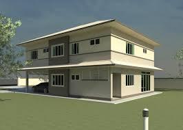 buildings plan double storey building design dimensions house
