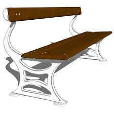 Street Furniture Benches Cast Iron Benches 521 And 522 3d Model Formfonts 3d Models