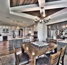 model home 1 5 story grey and white kitchen wood ceiling design model home 1 5 story grey and white kitchen wood ceiling design breakfast area