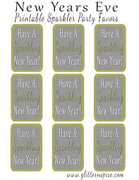 New Years Eve Decorations Printables by Two Free Printables For Last Minute New Years Eve Party Favors
