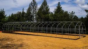 steel frame kits for gothic straight wall and hoophouse