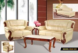 Italian Leather Sofa Set Meridian Furniture Bella Sofa Set Khaki Sofa Sets 632kh Set 3
