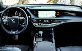 lexus ls 500 mpg 2018 lexus ls japanese design highlights new lexus ls interior