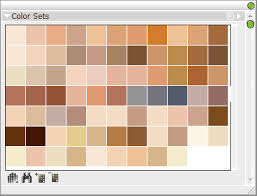 skin colors on palettes deviantart