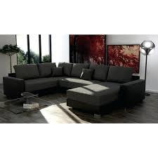 canap d angle noir tissu canape d angle convertible cuir noir lit canapac blanc couchage 140