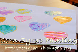 corn syrup painting shannon u0027s tot