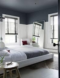 repeindre une chambre peindre un plafond en peinture couleur gris anthracite