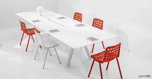 Joyn Conference Table Meeting Furniture Ark White Table