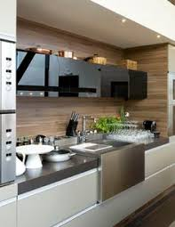 Home Kitchen Decor Useful Items Double As Decor In This Modern Kitchen Decoist