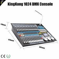 dmx light board controller showtec creator king kong 1024 dmx 512 controller console stage