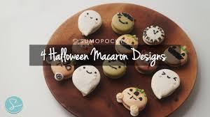 4 cute halloween macaron designs sumopocky youtube