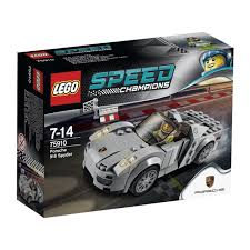 porsche petron lego speed champions porsche 918 spyder set 75910 toywiz