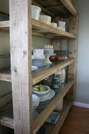 Free Standing Bookshelves Kitchen Magnificent Free Standing Kitchen Shelves Pantry Storage