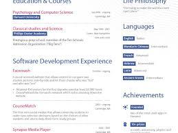 Venture Capital Resume Breakupus Remarkable Cool Resume Formats Creative Resume Templates