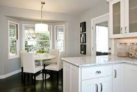 Dining Room Bay Window Curtain Ideas Home Intuitive Ggem Design - Dining room with bay window