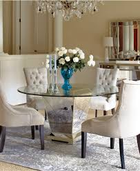 how to decorate mirrored dining table loccie better homes round mirrored dining table design