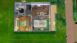 mod the sims cube house