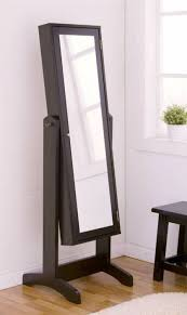 Floor Mirrors For Bedroom by Modern Bedroom Floor Mirror With Jewelry Storage Decorative