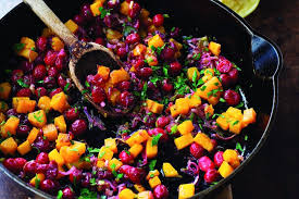 thanksgiving side dishes cranberry leek quinoa takes cranberries