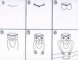 drawing with kids whimsical owl project by thriveartclass