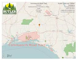 South Walton Florida Map by Collinsworth Rd Tract Farm For Sale Westville Walton County