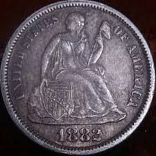 1882 liberty seated dime coin community forum