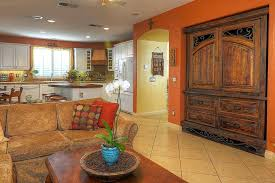 first floor in spanish spanish style home custom rustic furniture demejico